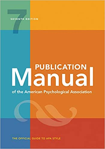 7th Edition APA Publication Manual