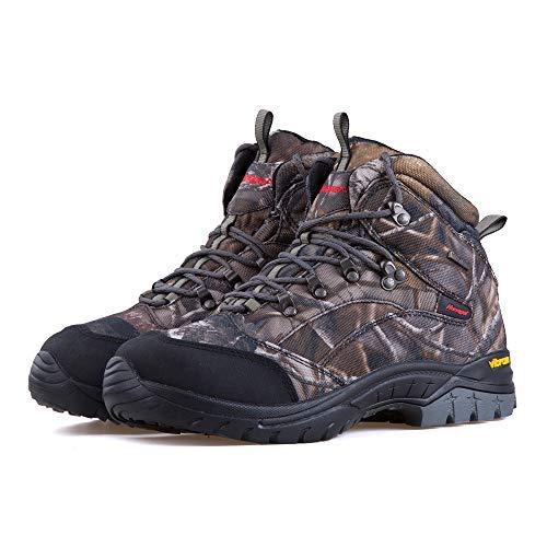 Treasu-LQ Chaussures de randonnée et de Trekking Montantes en Plein air Unisexes Chaussures de Chasse imperméables… 5