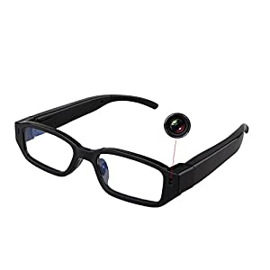 Jiusion 1280 x 720P HD Camera Glasses Eyewear Glasses DVR Surveillance Video Recorder Cam max Support 32GB