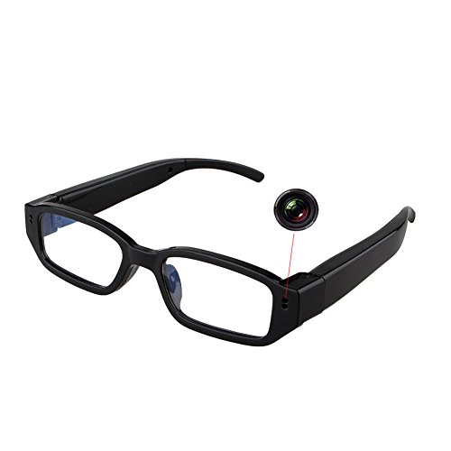 Jiusion 1280 x 720P HD Camera Glasses Eyewear Glasses DVR Surveillance Video Recorder Cam max Support 32GB