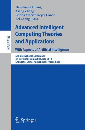 Advanced Intelligent Computing Theories and Applications: With Aspects of Artificial Intelligence: 6th International Con