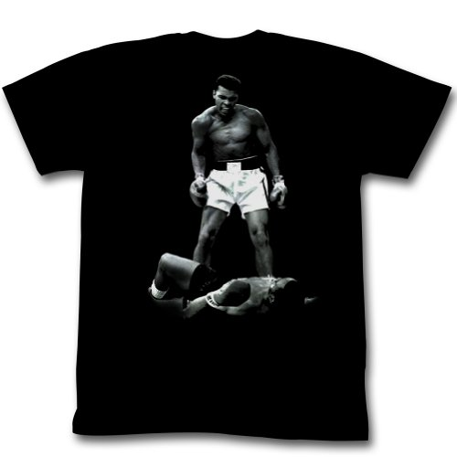 Muhammad Ali - Ali Over Liston T-Shirt Size L