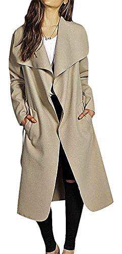 Knee Length Cashmere Blend Overcoat - 8