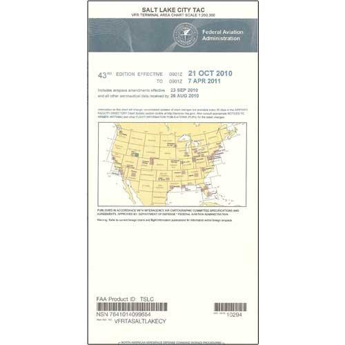 FAA Chart: VFR TAC SALT LAKE CITY TSLC (Current - Chart Terminal Area