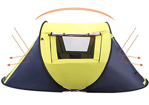 Nalanda 1-3 Person Pop-up Camping Tent Instant Tent for Outdoor Sports – New Version
