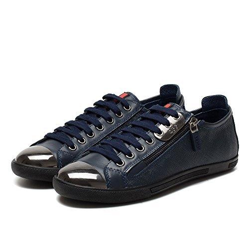 Opp Oxfords Nieuwe Mode Lage Schoenen, Casual Heren Schoenen 6568-2blue