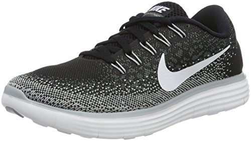 buy popular 7410a 7ca0d Galleon - Nike Womens Free Rn Distance Black White Dark Grey Wlf Grey  Running Shoe (7)