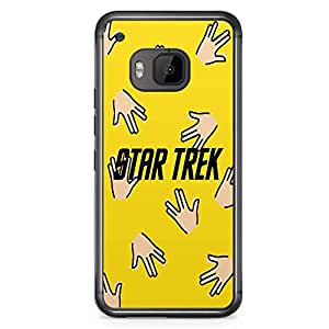 Loud Universe Star Trek Spock HTC M9 Case Spock Pattern HTC M9 Cover with Transparent Edges