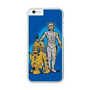 iPhone 6 Plus White Cell Phone Case Star Wars R2D2 STY790754 Phone Case Active