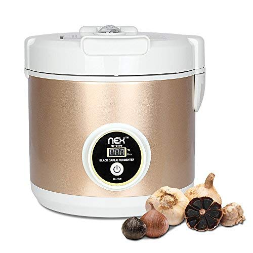 - NEX Black Garlic Fermenter Automatic Fermenter - Homemade Organic Whole Black Garlic - Single Clove Garlic