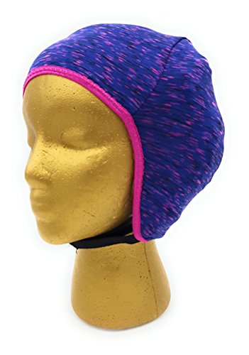 Wrestling Hair Cap- Purple with Pink - New in 2016! (Pink Trim) (Wrestling Hair Gear compare prices)