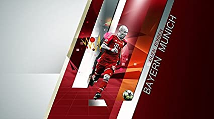 Amazon.com: XXW Artwork Arjen Robben Poster Football player ...