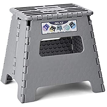 Amazon Com Delxo Folding Step Stool 13 Inch Plastic