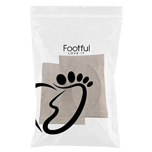 MagiDeal 1 par de Flatfoot Pads de Pies Accesorios de Salud de Alta Calidad Lavable y Reutilizable