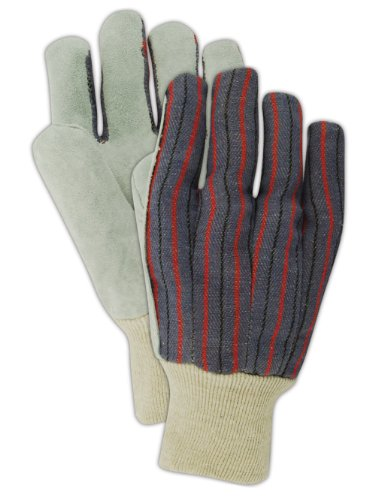 Magid DuraMaster TK6 Leather Glove, Knit Wrist Cuff, Men's Large (12 Pairs) ()