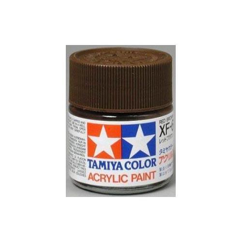 Tamiya Acrylic XF64, Flat Red Brown