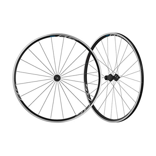 e1a2887b596 SHIMANO WH-RS100 Clincher Road Bicycle Wheel - Front - EWHRS100FB
