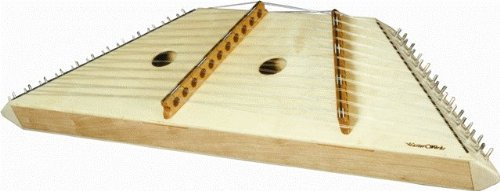 Master Works ''Student'' 12-11 Hammer Dulcimer - Laminate Top Natural by Masterworks