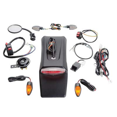 Tusk Motorcycle Enduro Lighting Kit Fits: Yamaha WR450F 2003-2009, 2012-2017 ()