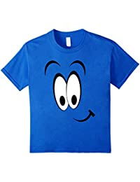 Funny Smiling Face T-Shirt, Happy Face Tee, Fun Cartoon Face