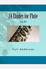 24 Etudes for Flute: Op 30 Paperback