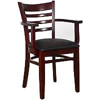 Beechwood Mountain BSD-5A-Dm Solid Beech Wood Arm Chair...