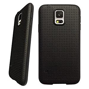 WQQ Teléfono Móvil Samsung - Cobertor Posterior - Gráfico - para Samsung S5 i9600 ( Multi-color , Plástico ) , Golden