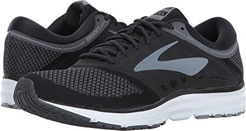Brooks Men's Revel Black/Anthracite/Primer Grey 11 D US