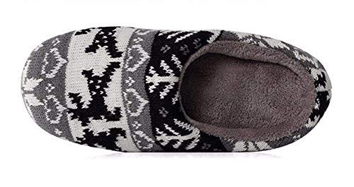 Per Interno Lino 21cm 31 Sed In 32 Pantofola Da Pantofole Cotone Donna Con xfO8awq
