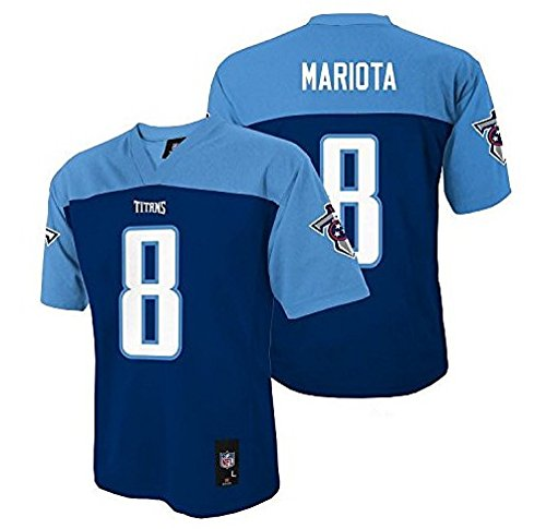 Marcus Mariota Tennessee Titans NFL Toddler Navy Blue Home Mid-Tier Jersey (Size 3T)
