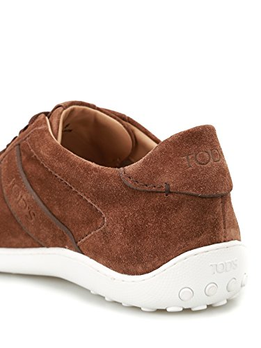 Tod's 08A Sneaker Tod's Active Marrone Sneaker Suede Active 08A in Uomo in TTgfw