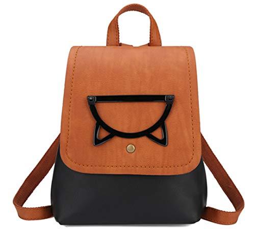 sac de voyage dos sacs de Black femmes sac couleur mode adolescents bonbons dos sacs filles Petit femmes dos sac d'école fqFwCf