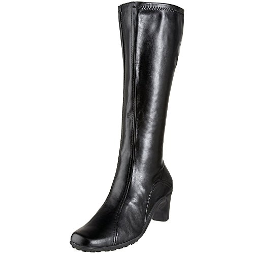 Racer Boot (Aerosoles Women's Lasticity Tall Boot,Black Polyurethane,7 M US)