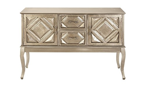Deco 79 Wood Console Cabinet, 48 by 33-Inch
