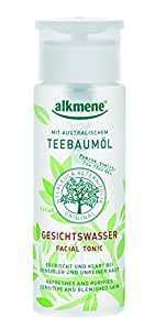 Tea Tree Oil Facial Toner Imported from Germany Paraben Free Vegan Facial Toner With Natural Pharmaceutical Grade Tea Tree Oil & Witch Hazel for Acne Prone Skin by Alkmene