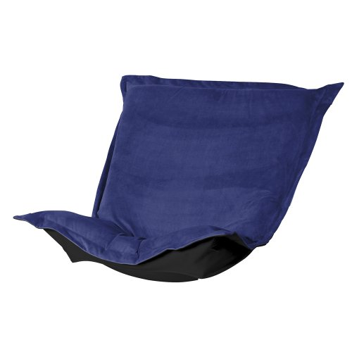 Howard Elliott 300-972P Puff Chair Cushion, Bella Royal (Puff Chair Scroll Rocker)