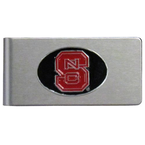 NCAA North Carolina State Wolfpack Brushed Money Clip - Nc State Wolfpack Money Clip