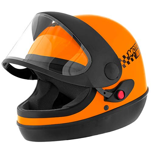 Pro Tork Capacete Sport Moto Taxi 60 Laranja