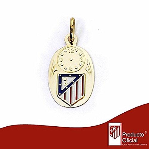 Médaille Atletico Madrid de loi bouclier émail 9k or [7007] - Modèle: 0520-047