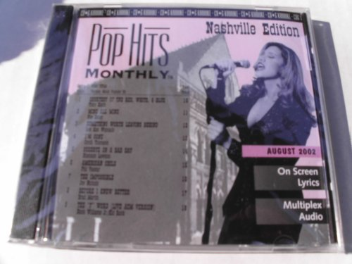 PHMN-0208 POP HITS MONTHLY COUNTRY Karaoke CDG AUGUST 2002 MULTIPLEX ()