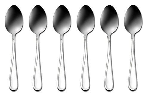 Oneida Stainless Steel Spoon - Oneida Flatware Flight, Teaspoons, Set of 6
