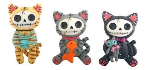 Furrybones Kitty Cat Mao Mao Magnet Set