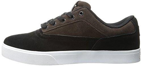 OSIRIS Skateboard Shoes CASWELL VLC BLACK/BROWN/WHITE Size 8