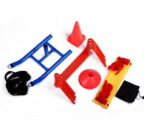 Soozier Speed / Agility Sports Training Kit - Ladder, Hur...