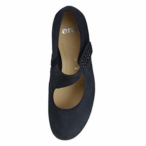 ara12-43604-02 - Slippers Mujer, color Azul, talla 41.5