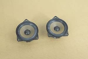 BMW E60 E82 E90 RIGHT & LEFT DOOR MID RANGE HIFI LOUD SPEAKER SET PAIR OEM 91K