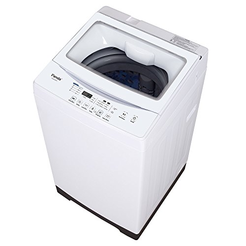 Panda Compact Washer 1.60cu.ft, High-End Fully Automatic Portable Washing Machine, white (Top Load Washing Machine And Dryer Set)
