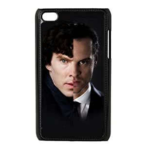 ipod 4 cell phone cases Black Sherlock fashion phone cases UTE441580