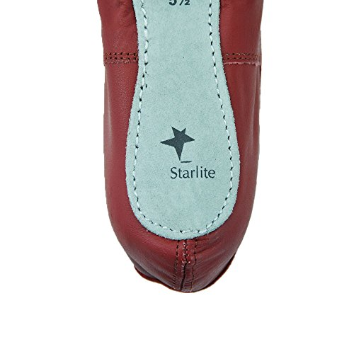 Starlite White Leather Full Sole Ballet Shoes u7sU6EkMP