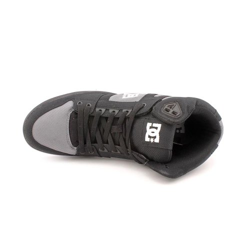 DC Shoes SPRTN HI W TX MENS SHOE - Zapatillas de lona hombre - Black/Battleship/White